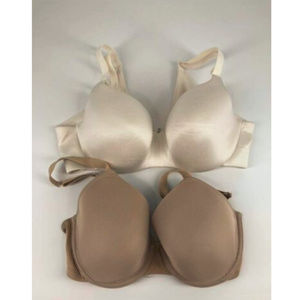 Cacique Bra 36D Lot of 2 Full Coverage Sample